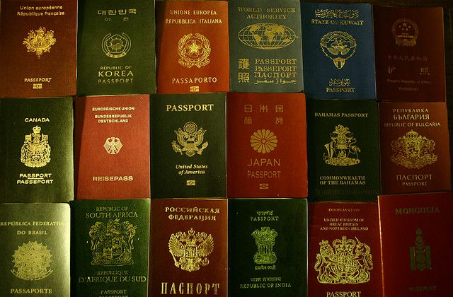 Passports by https://www.flickr.com/photos/16048742@N08/