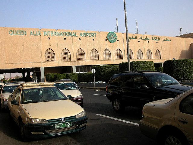 Queen Alia Airport by https://www.flickr.com/photos/archer10/