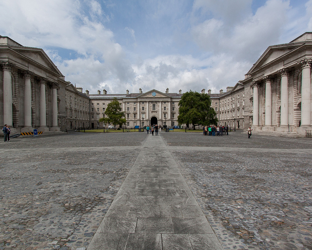 Trinity College, Dublin by https://www.flickr.com/photos/sackton/
