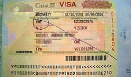 Visa to Canada By Udv 03:40, 22 August 2015(UTC) [Public domain], via Wikimedia Commons