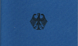 """Konventionspass Deutschland"" by FAFA - from German Wikipedia; scan by FAFA. Licensed under Public domain via Wikimedia Commons - https://commons.wikimedia.org/wiki/File:Konventionspass_Deutschland.png#mediaviewer/File:Konventionspass_Deutschland.png"