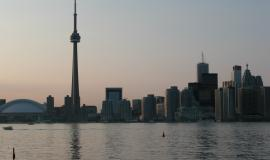 Toronto from the lake