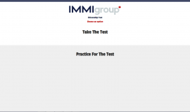 Screenshot of IMMIgroup's citizenship test