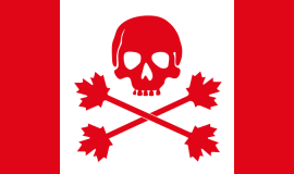 Pirate Flag of Canada
