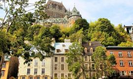 Quebec City via https://pixabay.com/en/canada-quebec-old-quebec-frontenac-1092344/